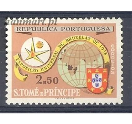 Znaczek Wyspy Św. Tomasza i Książęca 1958 Mi 381 Czyste **