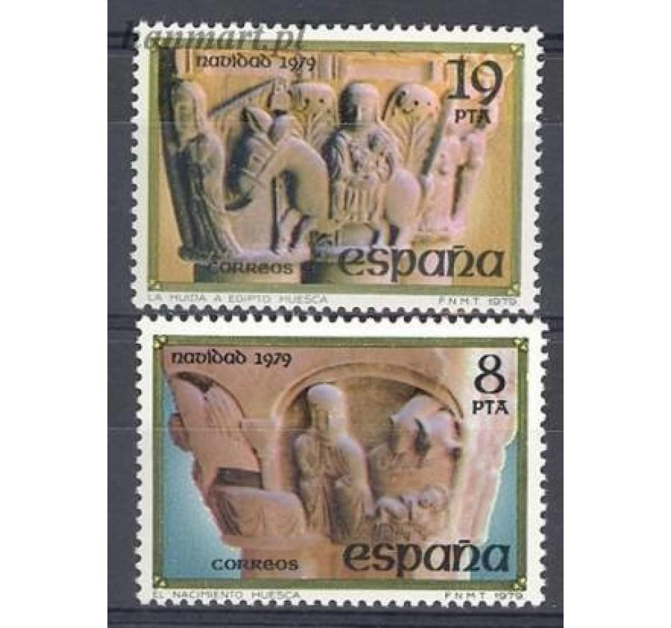 Hiszpania 1979 Mi 2442-2443 Czyste **