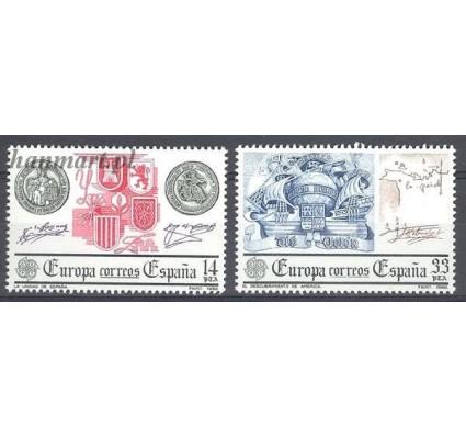 Hiszpania 1982 Mi 2545-2546 Czyste **
