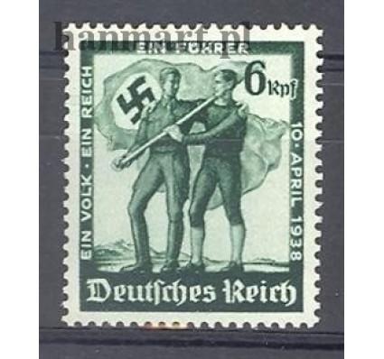 Znaczek Deutsches Reich / III Rzesza 1938 Mi 662 Czyste **