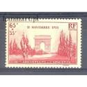 Francja 1938 Mi 434 Z podlepką *