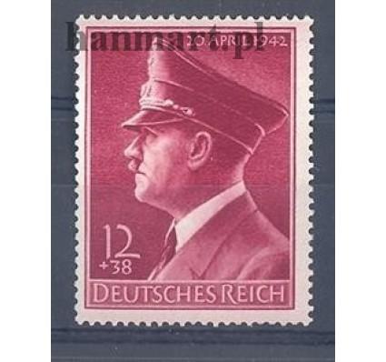 Znaczek Deutsches Reich / III Rzesza 1942 Mi 813 Czyste **