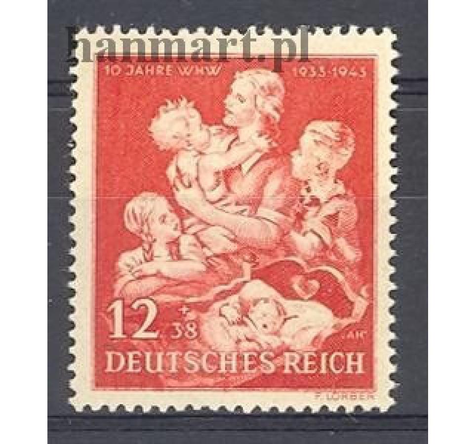 Deutsches Reich / III Rzesza 1943 Mi 859 Czyste **