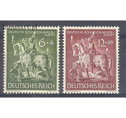 Znaczek Deutsches Reich / III Rzesza 1943 Mi 860-861 Czyste **