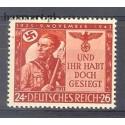 Deutsches Reich / III Rzesza 1943 Mi 863 Czyste **