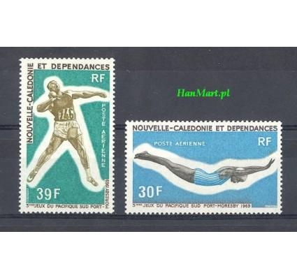 Nowa Kaledonia 1984 Mi 475-476 Z podlepką *