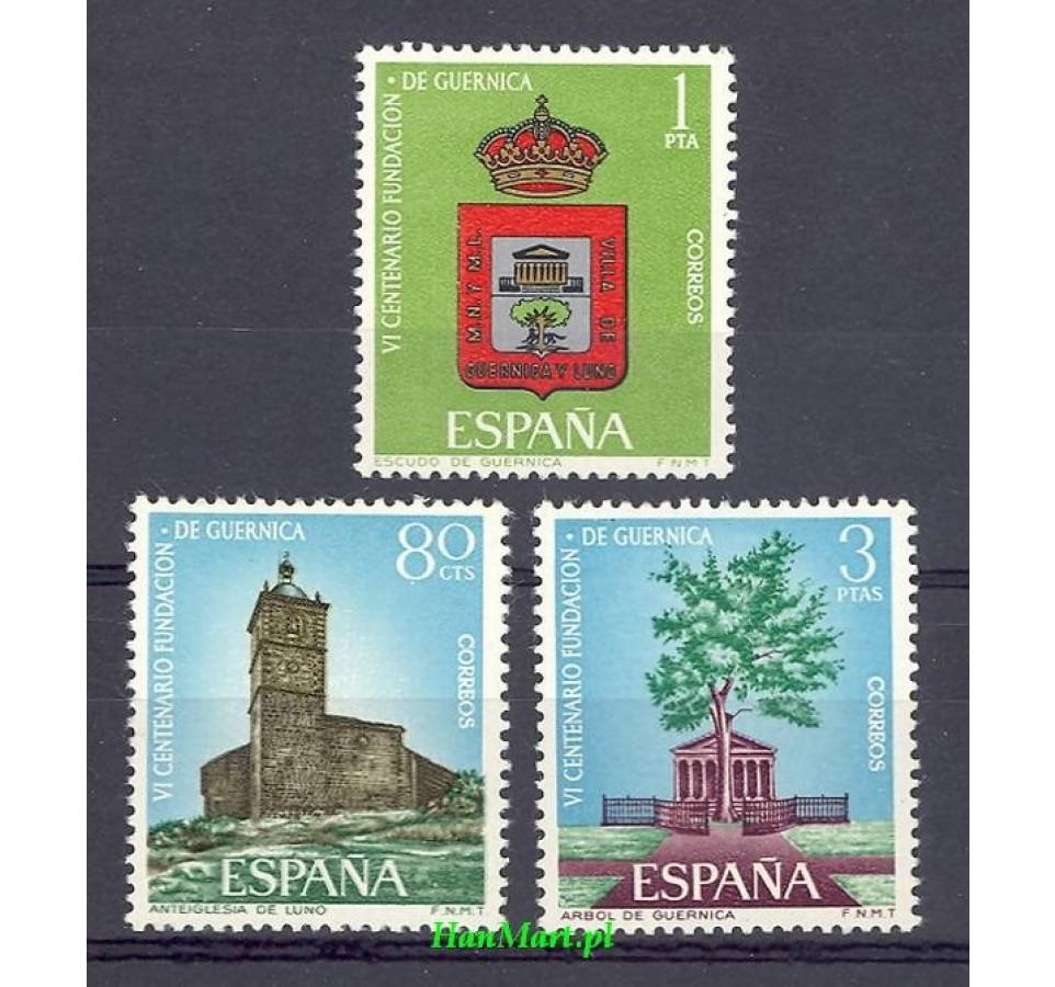 Hiszpania 1966 Mi 1610-1612 Czyste **