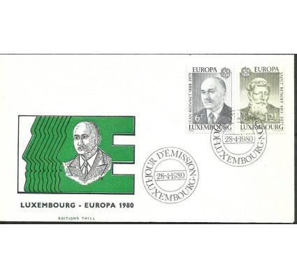 Znaczek Luksemburg 1980 Mi 1009-1010 FDC