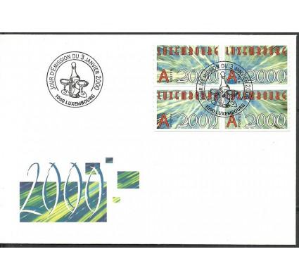 Znaczek Luksemburg 2000 Mi 1490-1493 FDC