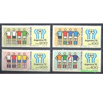 Argentyna 1978 Mi 1340-1343 Czyste **
