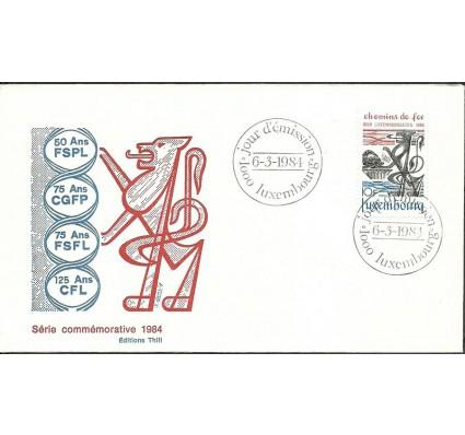 Znaczek Luksemburg 1984 Mi 1094 FDC