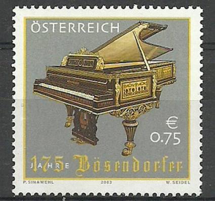 Znaczek Austria 2003 Mi 2451 Czyste **
