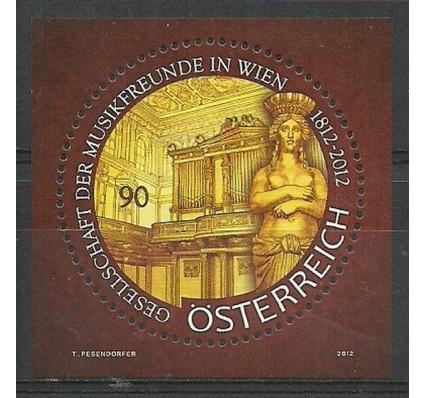 Znaczek Austria 2012 Mi bl 68 Czyste **
