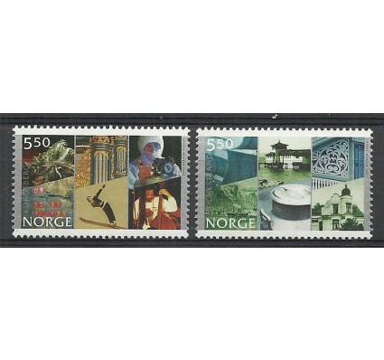 Znaczek Norwegia 2002 Mi 1436-1437 Czyste **