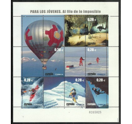 Znaczek Hiszpania 2005 Mi ark 4080-4085 Czyste **