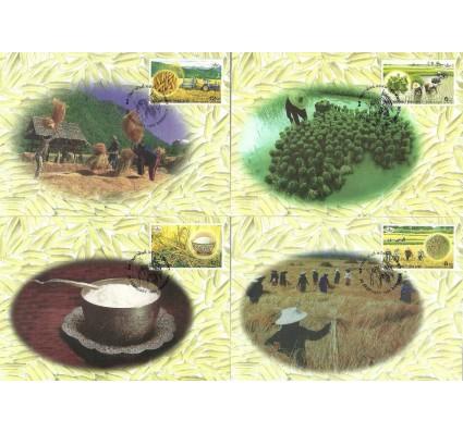 Znaczek Tajlandia 1999 Mi 1901-1904 Karta Max