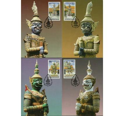 Znaczek Tajlandia 2001 Mi 2081-2084 Karta Max