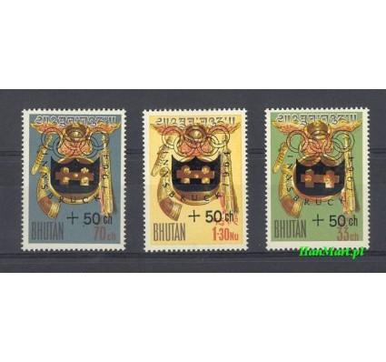 Znaczek Bhutan 1964 Mi 19-21 Czyste **