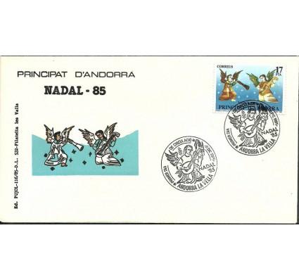 Znaczek Andora Hiszpańska 1985 Mi 186 FDC