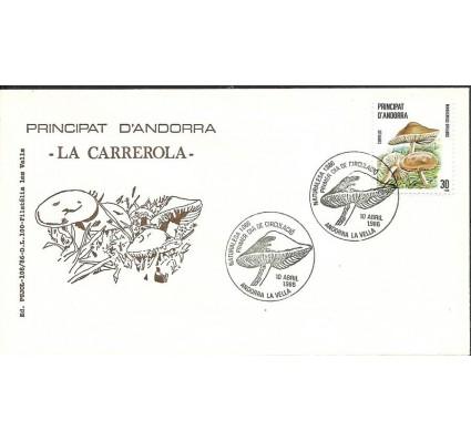 Znaczek Andora Hiszpańska 1986 Mi 187 FDC