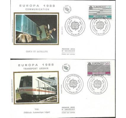 Znaczek Francja 1988 Mi 2667-2668 FDC