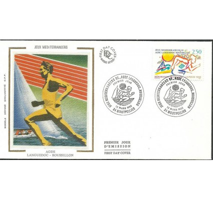 Znaczek Francja 1993 Mi 2941 FDC