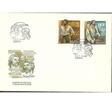 Znaczek Portugalia 1980 Mi 1488-1489 FDC
