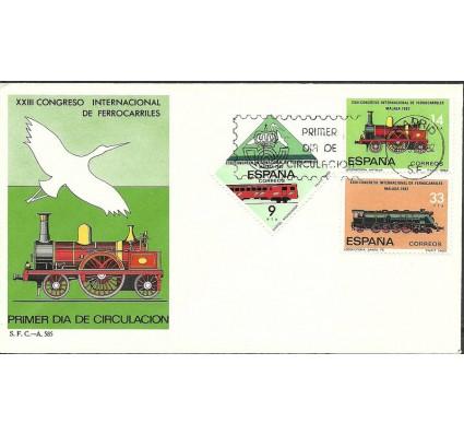 Znaczek Hiszpania 1982 Mi 2556-2558 FDC