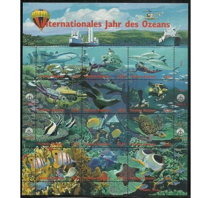 Znaczek Narody Zjednoczone Wiedeń 1998 Mi ark 271-282 Czyste **