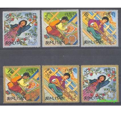 Bhutan 1967 Mi 161-166 Czyste **