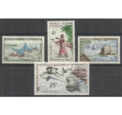 Znaczek Nowa Kaledonia 1962 Mi 378-381 Czyste **