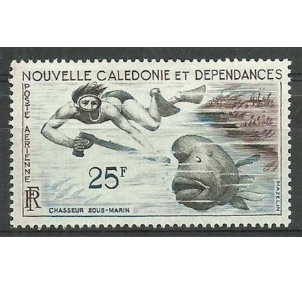 Znaczek Nowa Kaledonia 1962 Mi 381 Czyste **