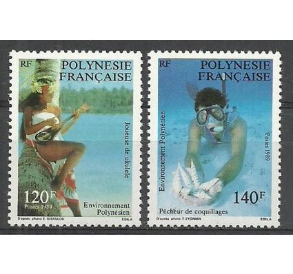 Znaczek Polinezja Francuska 1989 Mi 530-531 Czyste **