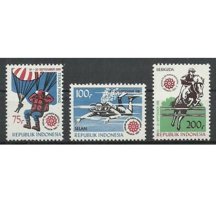 Znaczek Indonezja 1981 Mi 1023-1025 Czyste **