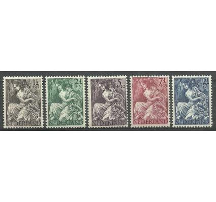 Znaczek Holandia 1946 Mi 457-461 Czyste **