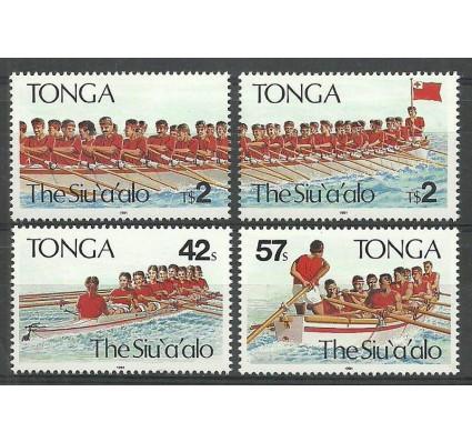 Znaczek Tonga 1991 Mi 1187-1188+1190-1991 Czyste **