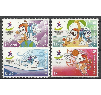 Znaczek Singapur 2010 Mi 1957-1960 Czyste **