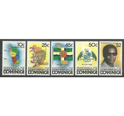 Znaczek Dominika 1978 Mi 609-613 Czyste **