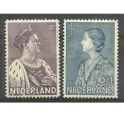 Znaczek Holandia 1934 Mi 272-273 Z podlepką *