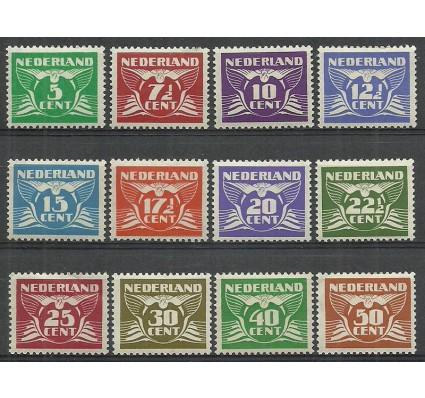 Znaczek Holandia 1941 Mi 380-391 Z podlepką *