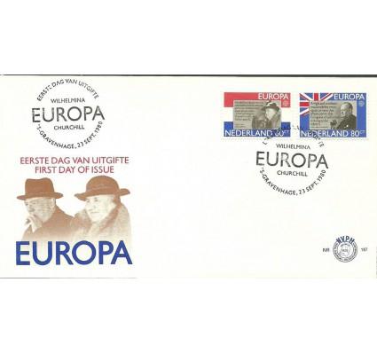 Znaczek Holandia 1980 Mi 1168-1169 FDC