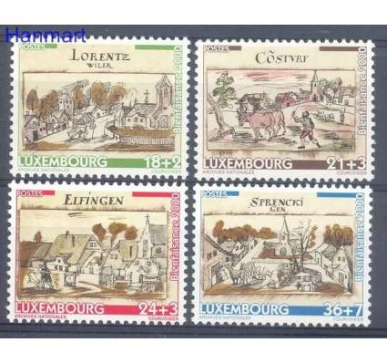 Znaczek Luksemburg 2000 Mi 1518-1521 Czyste **