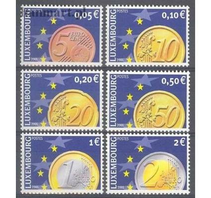 Luksemburg 2001 Mi 1544-1549 Czyste **