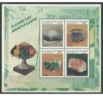 Znaczek Kazachstan 1997 Mi bl 9 Czyste **