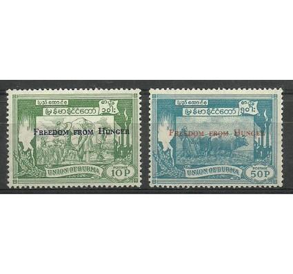 Znaczek Myanmar 1963 Mi 174-175 Czyste **