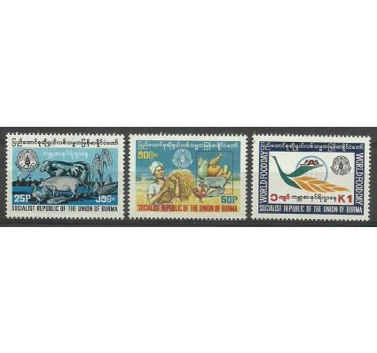 Znaczek Myanmar 1981 Mi 282-284 Czyste **