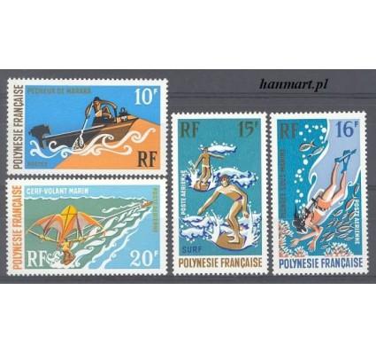 Znaczek Polinezja Francuska 1971 Mi 129-132 Czyste **