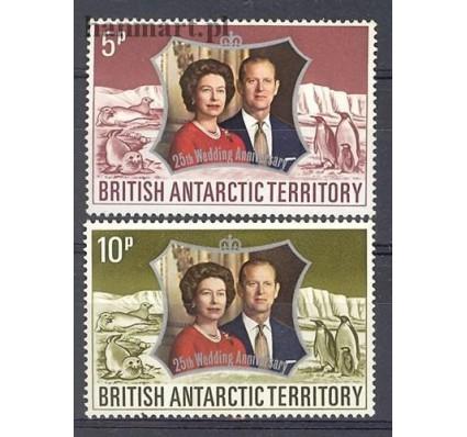 Znaczek Brytyjskie Terytorium Antarktyczne 1972 Mi 43-44 Czyste **