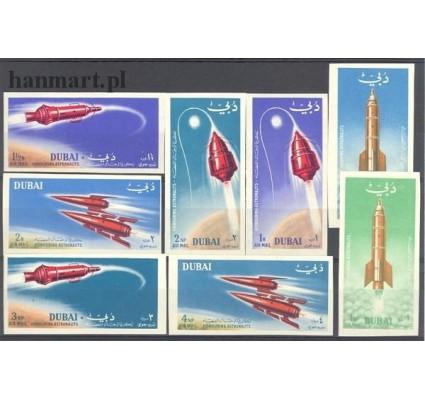 Znaczek Dubaj 1964 Mi 71-78B Czyste **