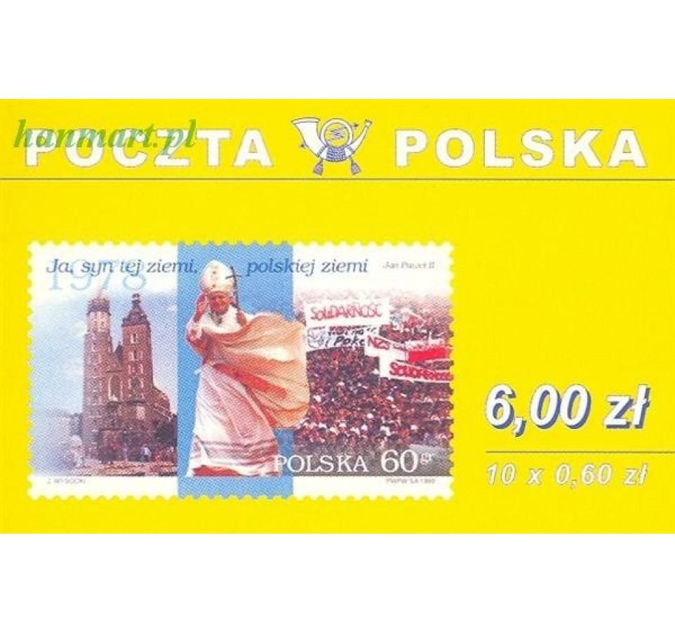 Polska 1999 Mi mh 3768 Czyste **